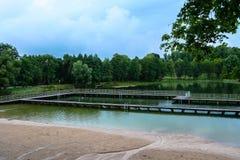 饮水池 库存照片