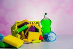 饱和的颜色,洗涤的概念 免版税图库摄影
