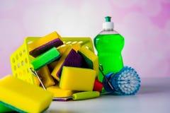 饱和的颜色,洗涤的概念 库存图片
