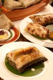 饺子米zongzi 库存照片