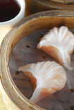 饺子虾 免版税库存照片