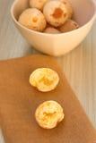 饼和两把叉子 图库摄影
