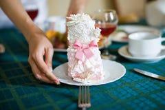 饼婚礼 图库摄影