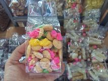 饼干在泰国 库存图片