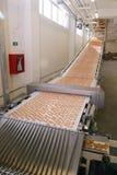 饼干工厂 免版税库存照片