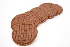 饼干巧克力 库存图片