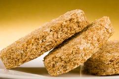 饼干早餐麦子 免版税库存图片