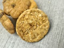 饼干早餐 免版税库存照片