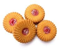 饼干果酱 图库摄影