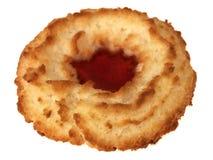 饼干椰子唯一果酱的环形 图库摄影