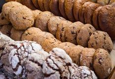 饼干的不同的类型 库存图片