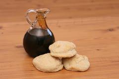 饼干糖浆 库存照片