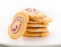 饼干莓口味 免版税库存图片