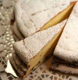 饼干蛋糕 免版税库存图片