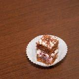 饼干蛋糕 免版税库存照片