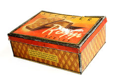 饼干配件箱 免版税图库摄影