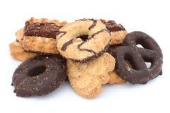 饼干黄油脆饼 免版税库存图片
