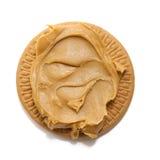 饼干黄油花生 库存照片