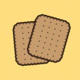 饼干 库存图片