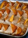 饼炸玉米饼 图库摄影