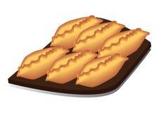 饼盘 免版税库存照片