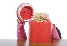 饼罐 免版税库存图片