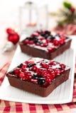 馅饼用莓果 图库摄影