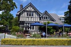 馆长在克赖斯特切奇植物园-新西兰安置 免版税库存照片