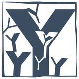 首写字母Y 免版税图库摄影