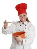 首要厨师妇女 免版税库存照片