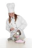 首要厨师妇女 库存图片