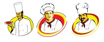 首要厨师 向量例证