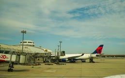 首都国际机场在北京,中国 库存照片