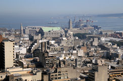 首都蒙得维的亚乌拉圭 免版税库存图片