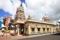 首都路易斯・毛里求斯端口寺庙 图库摄影