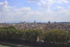 首都都市风景意大利意大利罗马 库存照片