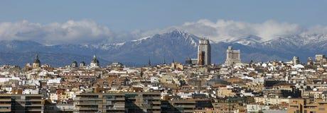 首都马德里 免版税库存图片