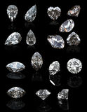 首饰宝石的汇集 向量例证