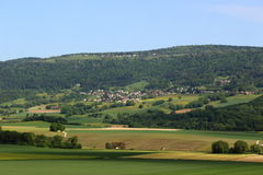 香宾,瑞士 免版税图库摄影