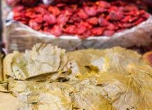 香料义卖市场在伊斯坦布尔 库存照片