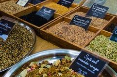 香料在普罗旺斯,法国销售 免版税库存图片