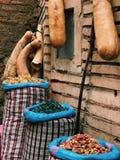 香料在马拉喀什,莫洛克 库存图片