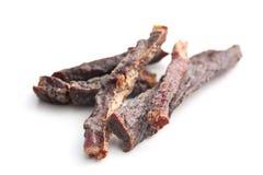香料牛肉干 免版税图库摄影