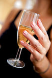 香槟多士婚礼 图库摄影