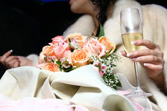 香槟方式 免版税库存图片