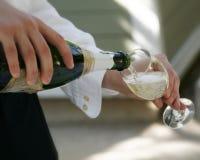 香槟有一些 免版税库存照片