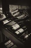 香槟机架 免版税图库摄影