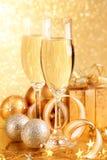 香槟玻璃二 免版税库存照片