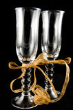 香槟玻璃 免版税库存照片
