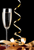 香槟节假日 免版税图库摄影